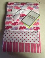 Sumersault Three Pack Pink Receiving Blanket by