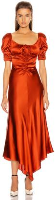 Alexis Noerene Dress in Auburn | FWRD