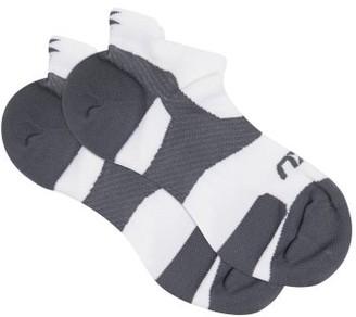 2XU Vectr Cushion Trainer Socks - White Multi