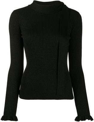 RED Valentino Rib-Knit Jumper