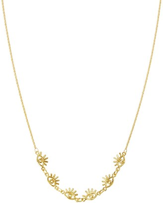 Amorcito Gold Minerva Choker Necklace