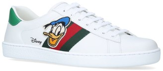 Gucci + Disney Donald Duck Ace Sneakers