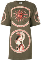 Fausto Puglisi long printed T-shirt