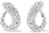 Yeprem - 18-karat White Gold Diamond Earrings