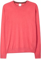Paul Smith Pink Merino Wool And Silk Blend Jumper