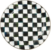 Mackenzie Childs Courtly Check Enamel Charger / Plate