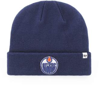 '47 Edmonton Oilers NHL Raised Cuff Knit Beanie