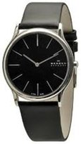 Skagen Men's 858XLSLB Calf Skin Quartz Watch
