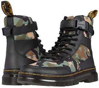 Dr. Martens Combs Tech (Black/Khaki Element/Camo Poly) Shoes