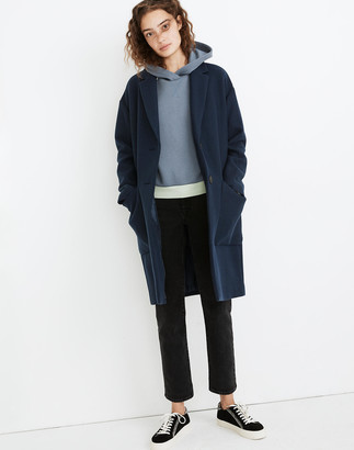 Madewell Elmcourt Coat in Insuluxe Fabric