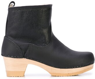 """NO.6 STORE 5"""" Pull On Shearling Clog Boot"""