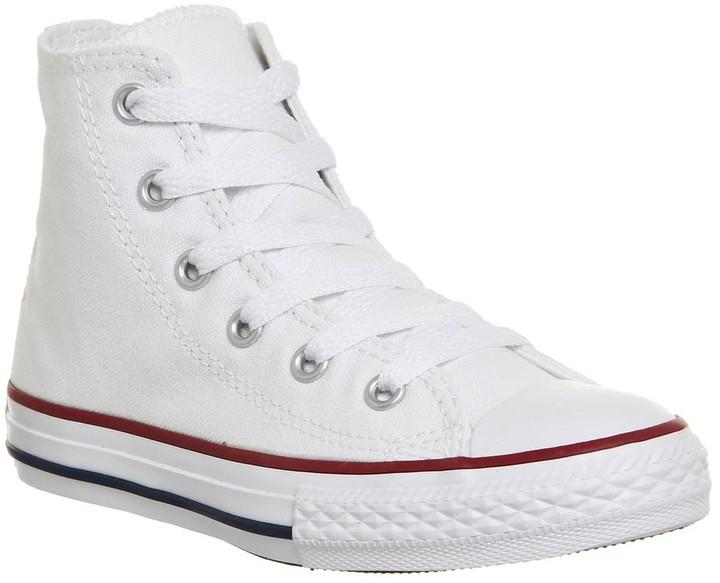 Converse Hi Mid Sizes Optical White
