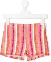 Il Gufo striped shorts