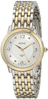 August Steiner Women's AS8133TTG Analog Display Swiss Quartz Two Tone Watch