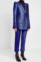 Haider Ackermann Satin Blazer with Silk