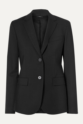 Theory Classic Stretch-wool Blazer - Black