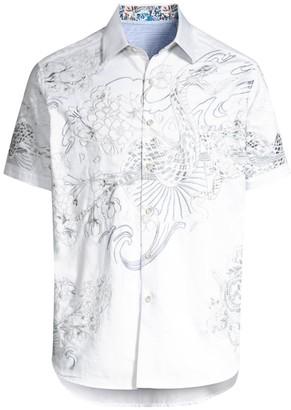Robert Graham Viper Embroidered Shirt
