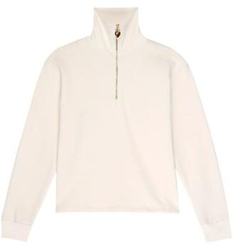 DONNI Gem Half-Zip Sweatshirt