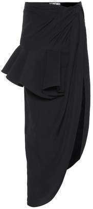Jacquemus La Jupe Sol asymmetric skirt