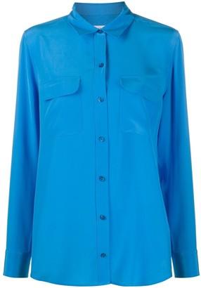 Equipment Silk Long Sleeve Shirt