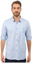 Ted Baker Linnoo Linen Roll Up Shirt