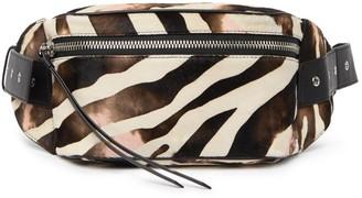 AllSaints Captain Zebra Belt Bag