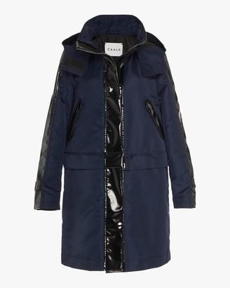 Caalo Sustainable Glossed Convertible Raincoat
