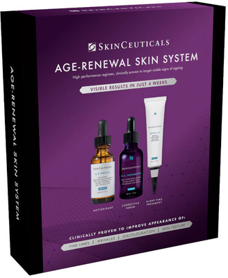 Skinceuticals Age-Renewal Skin System - Targeted Regime for Anti-Ageing (Worth 290.00)