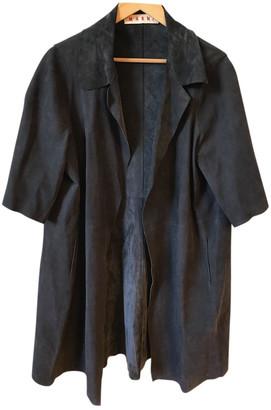 Marni Grey Suede Jackets