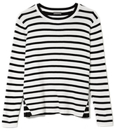 VC Vince Camuto Contrast-stripe Sweater