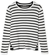 Vince Camuto Contrast-stripe Sweater