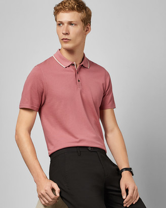 Ted Baker FLAVA Short sleeved pique polo
