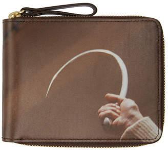 Undercover Brown Suspiria Hook Zip Wallet
