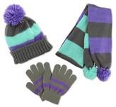 Girls' Handwear And Headwear Sets - Grey S
