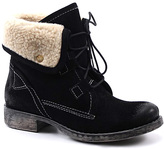 Diba Black Jay Neen Suede Ankle Boot