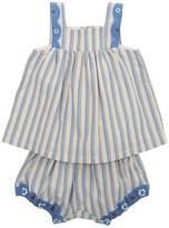 Cotton Seersucker Top & Shorts