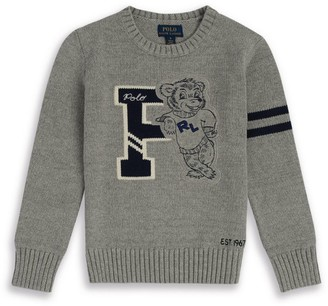 Ralph Lauren Kids Polo Bear Sweater (5-7 Years)