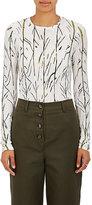 Proenza Schouler Women's Tissue-Weight Jersey T-Shirt-WHITE