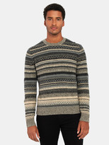 Vince FairIsle Crewneck Sweater