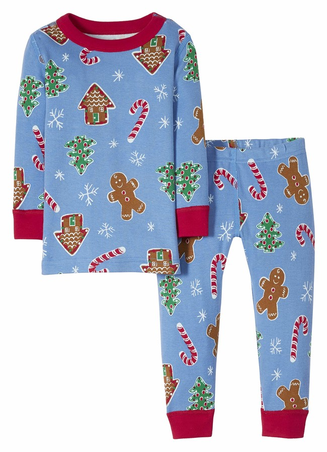Moon and Back by Hanna Andersson Kids' Toddler Organic Family Matching 2 Piece Pajama Set