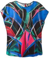 Fausto Puglisi abstract print blouse
