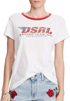 Denim & Supply Ralph Lauren Tomboy Cotton Graphic Tee