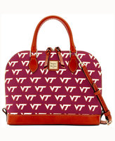 Dooney & Bourke Virginia Tech Hokies Zip-Zip Satchel
