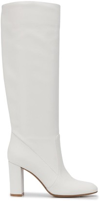 Gianvito Rossi Knee-Length Leather Boots