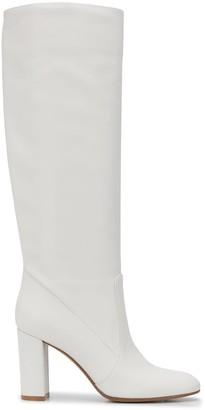 Gianvito Rossi White Leather Boots