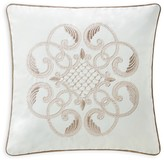 "Waterford Trousseau Square Decorative Pillow, 14"" x 14"""