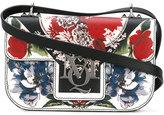 Alexander McQueen Insignia floral print satchel