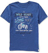 Lucky Brand Big Boys 8-20 Long Way Short-Sleeve Tee