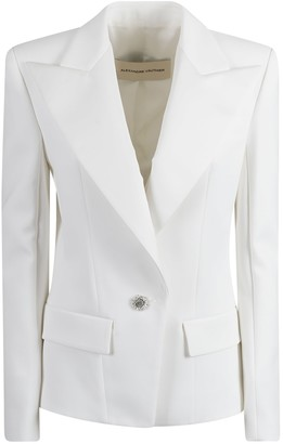 Alexandre Vauthier Crystal Buttoned Blazer