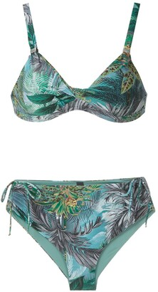 Lygia & Nanny Marcela printed bikini set